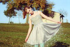 Illustration:Me / Photo:M.Hochhaus #photo #illustration #dress #magic