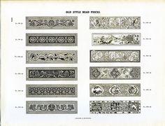 Speciment of typographic ornaments #type #specimen #typography