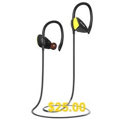 Awei #A888BL #In-ear #Sweatproof #Earphone #Bluetooth #Sports #Earbuds #- #BLACK