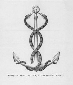 TRASH #anchor #etching