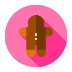 See more icon inspiration related to food and restaurant, gingerbread man, gingerbread, cookie, dessert, bakery, christmas, sweet and food on Flaticon.