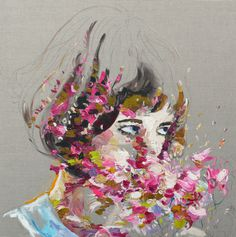 Judith Geher | PICDIT #design #paint #painting #art #flower