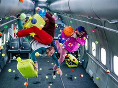 OK Go Shoots New Music Video Completely in Zero Gravity