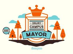 Dribbble - Mayor for the Month by John Dozier