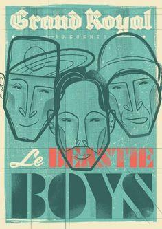 Beastie Boys Poster #poster #boys #beastie