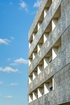 Lumina Building Has a Facade Inspired by Symmetry Patterns Found in Middle Eastern Art