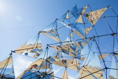 CJWHO ™ (Solar Bell by Tomás Saraceno What if a building...) #sculpture #solar #installation #design #art #bell