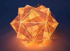 Kusudama light #lamp #ligth