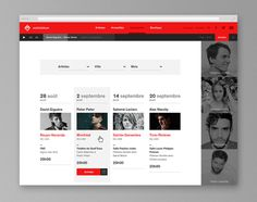 Audiogram by Philippe Gauthier and DeuxHuitHuit #website #web