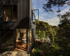 An Unusual Tree House: Striking Blackpool Project in New Zealand #architecture #house #tree