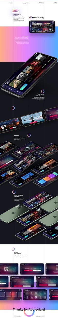 Sapphire Secure TV app