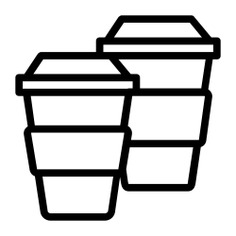 See more icon inspiration related to coffee, coffee cup, Paper cup, take away, coffee shop, food, food and restaurant and hot drink on Flaticon.