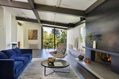 living room, Seattle, Washington...a Mid-Century House Renovation