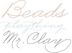 Business Penmanship #script #typography
