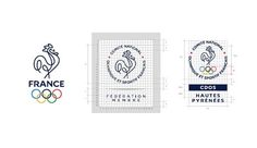 France olympique #logo #identiy