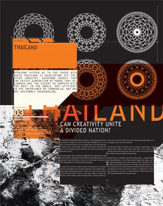 STUFF FROM IdN on Editorial Design Served #design #type #layout