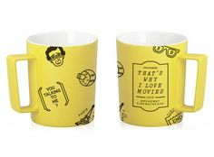 mug packaging6 #alonglongtime #yellow #graphic #product #illustration #movies #character #cup