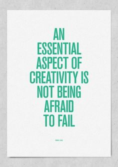 CJWHO ™ (an essential aspect of creativity is not being...) #quote #motivation #creativity #illustration #typography
