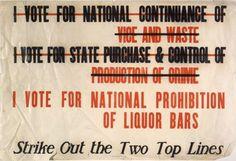 strike out poster.jpg (500×343) #sign #beer #vintage #prohibition