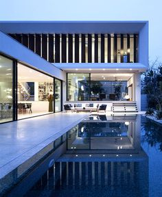 Cozy Looking and Futuristically Shaped Mediterranean Villa - #architecture, #house, #housedesign, home, architecture