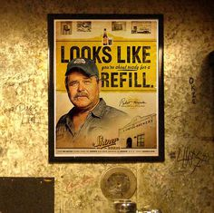 Shiner Urinal Marketing #beer #poster