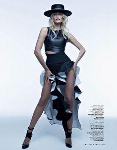 Natasha Poly by Patrick Demarchelier #fashion #photography #inspiration