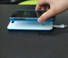 iPhone 5 Magnetic Battery Back Cover #gadget