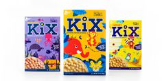 #kix, #cereal, #packaging