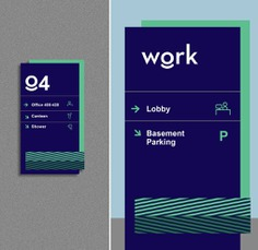Wayfinding | Signage | Sign | Design | 办公室标识牌