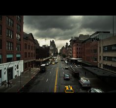 NEW YORK on Behance #photography #grunge #cityscape