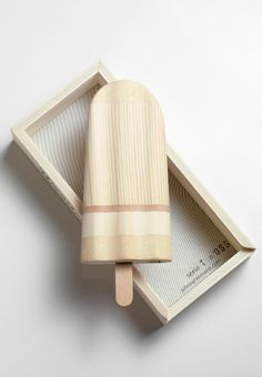 So innovative. #wood #popsicle