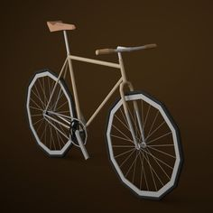 bianchipista #fixie #bicycle #bianchi #render #mountainbike #c4d #poly #biking #lowpoly #bike #low #3d