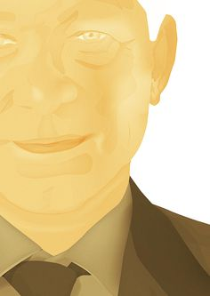 Sir Alex Ferguson #manager #jamesp0p #oconnell #manchester #mufc #james #illustration #united #anonymousmag #football