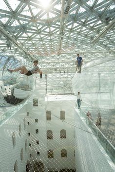 CJWHO ™ (Tomás Saraceno | in orbit Suspended more than 25...)