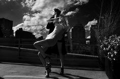 Therese + Joel #white #joel #+ #elsaelsa #black #photography #therese #and