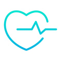 See more icon inspiration related to cardiogram, heart, shapes and symbols, healthcare and medical, heart rate, electrocardiogram, beating, beat, pulse, love and medical on Flaticon.