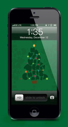 Christmas Wallpaper on Behance #christmas #iphone #wallpaper