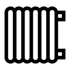 See more icon inspiration related to heat, heater, warm, hot, furniture and household, radiators, radiator, electric, electronics, heating and technology on Flaticon.