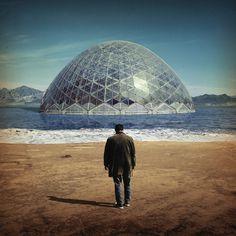 Damien Jurado Brothers and Sisters of the Eternal Son.jpg (1425×1425) #album #jurado #sphere #art #man #surreal #damien