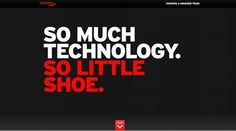 Saucony Kinvara 3 | Awwwards | Site of the day #site #start #typoraphy #nike #promo #web