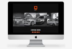 QCARS.TV Concept work on Behance #logo #branding #identity #infographics #film #website #info graphics #data #web #london #automotive #chart