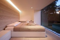 Lake Lugano House by JM Architecture #ideas #bedroom #interiors
