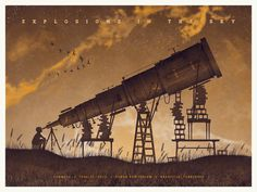 DKNG Studios » Featured Work #sky #in #the #explosions #poster