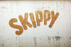 Household Brands Become Tasty Street Art Photo #logo #street #art #typography
