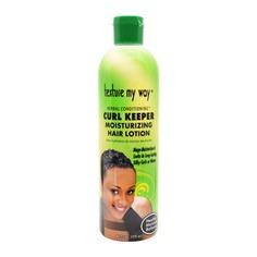 Texture My Way Curl Keeper Moisturizing Hair Lotion