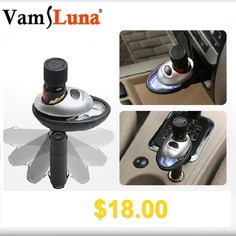 New #Multi-Function #Car #Humidifier #with #Cigarette #Lighter #In #1 #Mini #Air #Purifier #Aroma #Diffuser