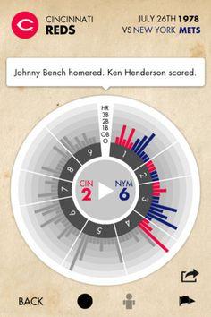 Topps Pennant Baseball #app #baseball #ui