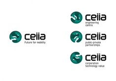 CEIIA - Future for mobility on the Behance Network #brand #symbol