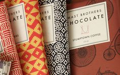The History Of New York City, Told In 50 Objects #packaging #chocolate #label #wrapper #mast brothers