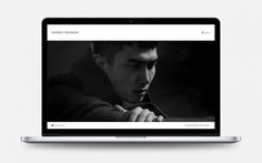 Geordy Pearson by R&Co. Design #responsive #design #website #grid #minimal #wordpress #web